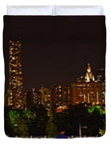 Beauty From Brooklyn Bridge Park Duvet Cover