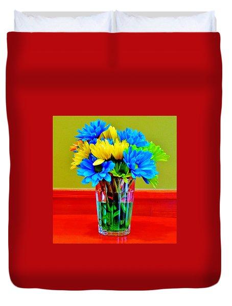 Beauty In A Vase Duvet Cover