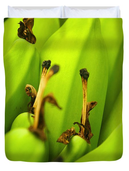 Beauty In Bannanas Duvet Cover by Justin Woodhouse