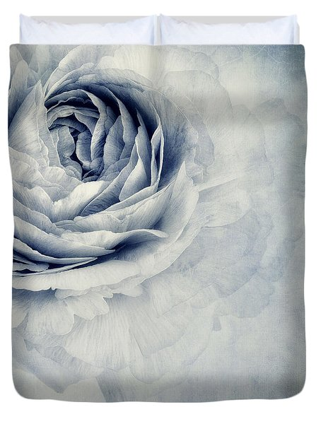 Beauty In Blue Duvet Cover
