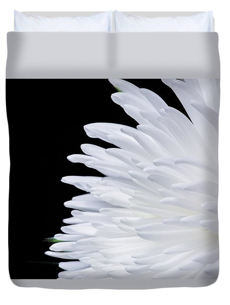 Beauty In Contrast Duvet Cover