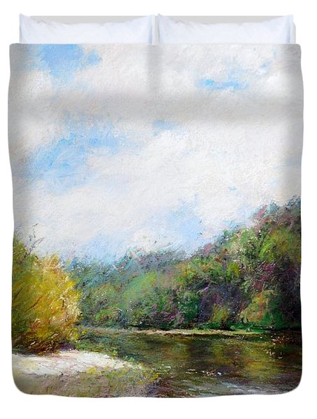 Beauty Of Nature  Duvet Cover by Nancy Stutes