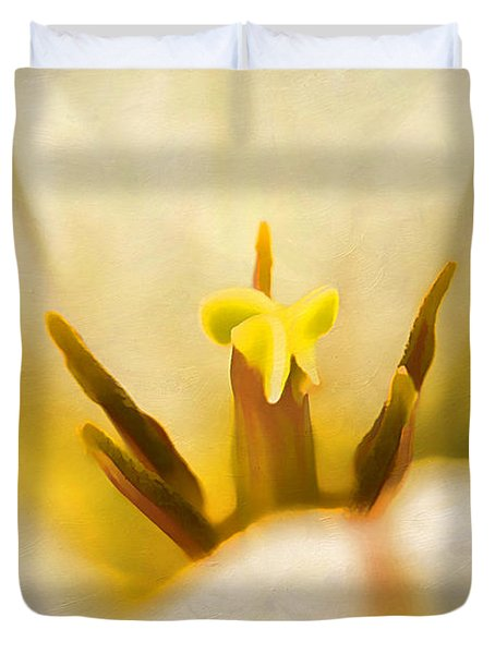 Beauty Of Spring Duvet Cover by Darren Fisher