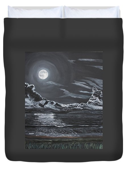 Beauty Of The Night Duvet Cover