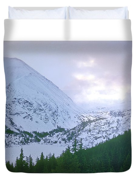 Beauty Of The Rockies Duvet Cover by Kellice Swaggerty