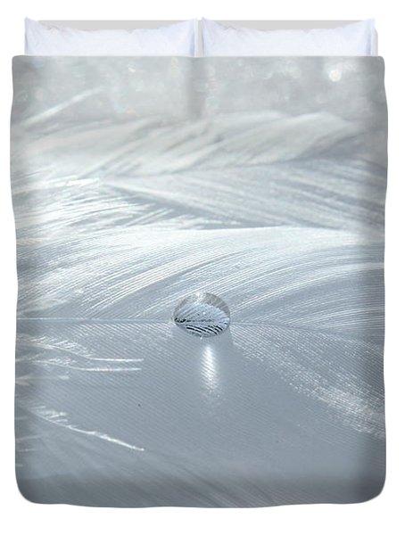 Beauty Of White Duvet Cover