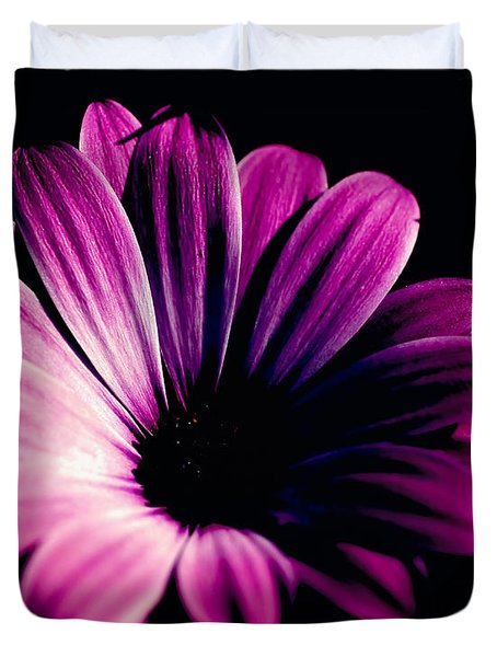 Beauty On The Black #2 Duvet Cover
