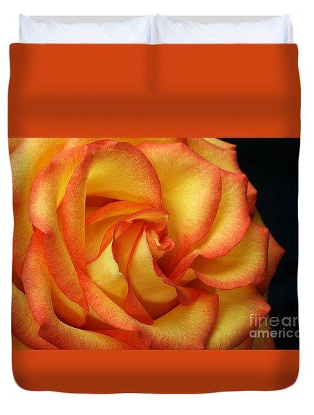 Beauty Unfolds Duvet Cover