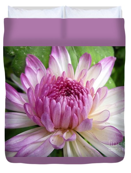 Beauty With Double Identity Duvet Cover