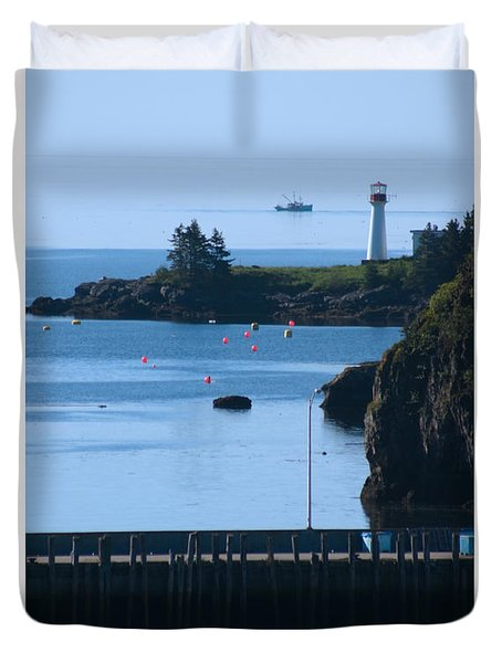 Beaver Harbour Nb Canada Duvet Cover
