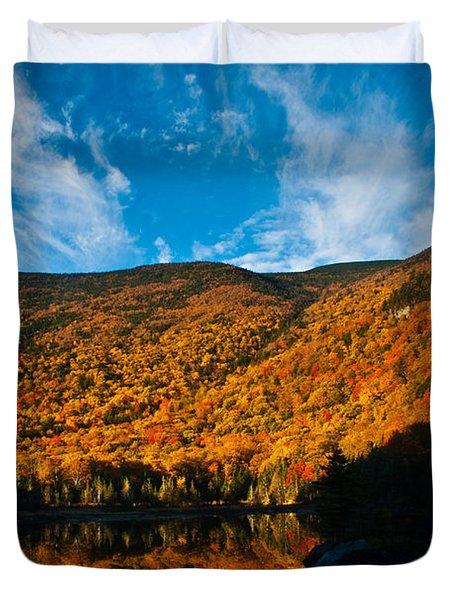 Beaver Pond White Mountain National Forest Duvet Cover