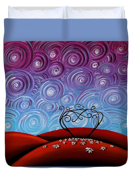 Because You're Mine Duvet Cover by Cindy Thornton