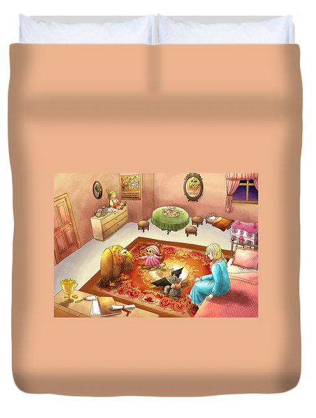 Bedtime For Tammy Duvet Cover