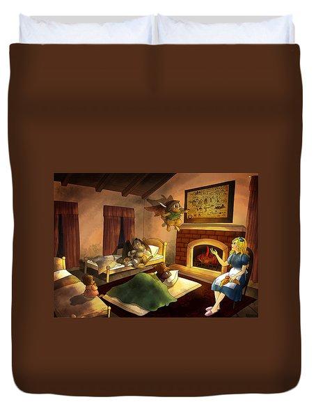 Bedtime Duvet Cover