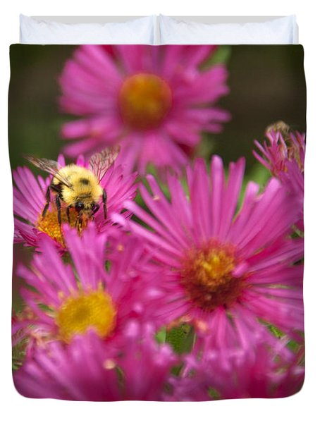 Bee Duvet Cover by Alana Ranney
