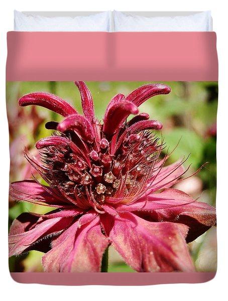 Bee Balm Details Duvet Cover