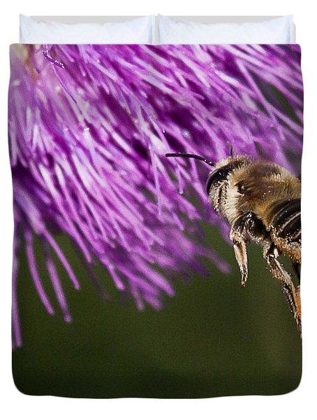 Bee Butt Duvet Cover