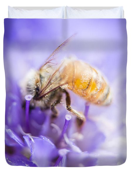 Bee Dream Duvet Cover by Caitlyn  Grasso