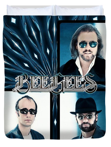 Bee Gees I Duvet Cover