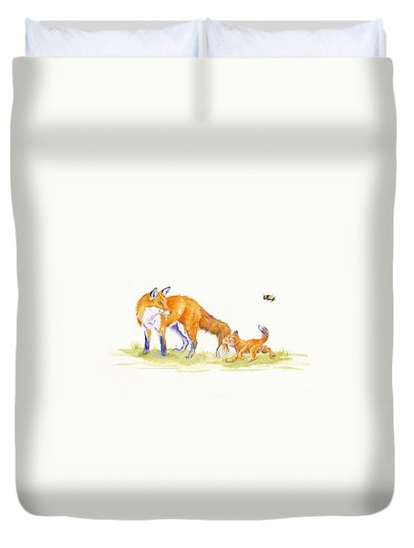 Bee-loved Duvet Cover