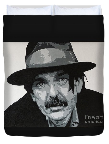 Beefheart Duvet Cover by ID Goodall