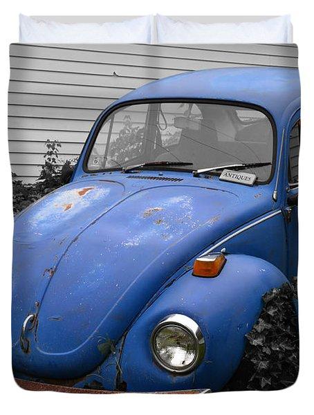 Beetle Garden Duvet Cover
