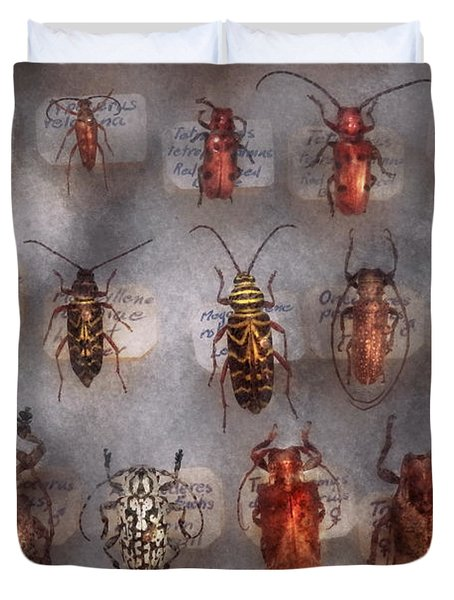 Beetles - The Usual Suspects  Duvet Cover by Mike Savad
