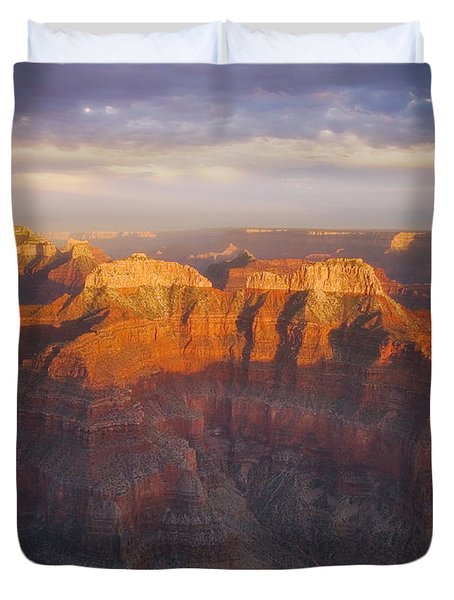 Before Sublime Colors Duvet Cover by Peter Coskun