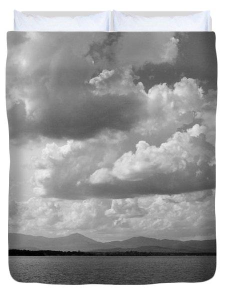 Before The Storm Duvet Cover by Barbara Bardzik