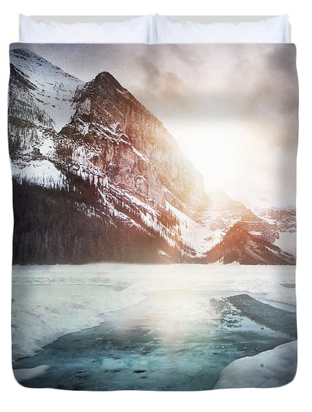 Beginning To Thaw Duvet Cover by Kym Clarke
