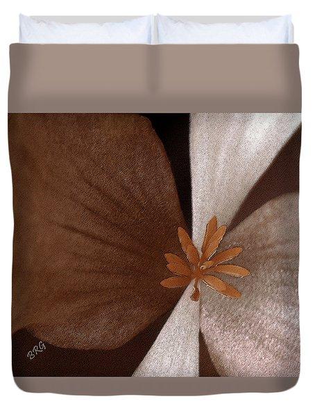 Begonia Duvet Cover by Ben and Raisa Gertsberg
