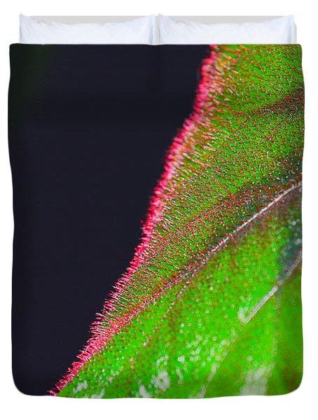 Begonia_heart Duvet Cover