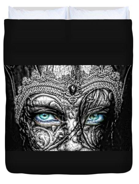 Behind Blue Eyes Duvet Cover