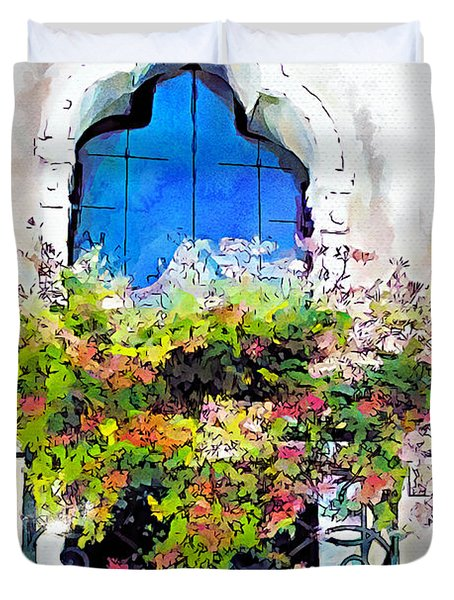 Bei Fiori Duvet Cover by Greg Collins