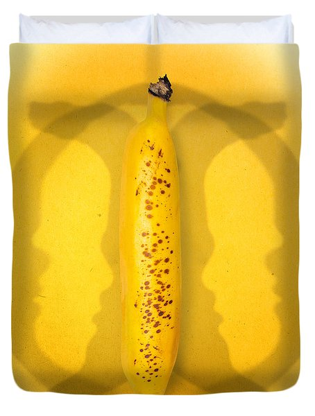 Being Bananas From Inversions In The Multiverse Duvet Cover