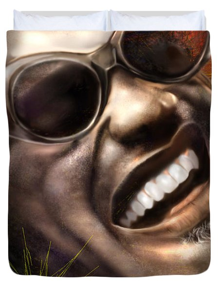 Being Ray Charles1 Duvet Cover