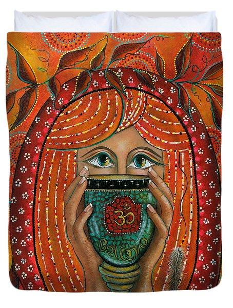 OM Duvet Cover by Deborha Kerr