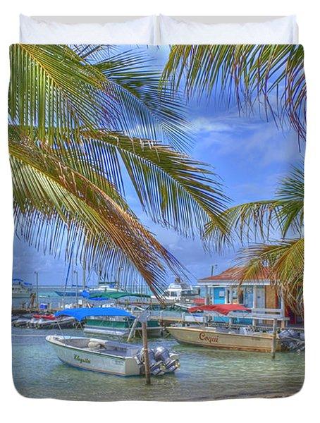 Belize Hdr Duvet Cover