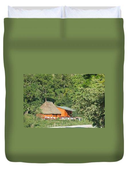 Belize House Duvet Cover