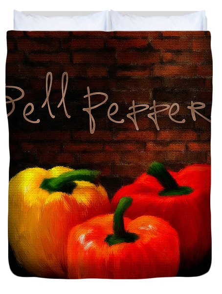 Bell Peppers II Duvet Cover