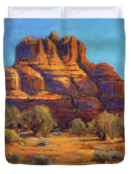 Bell Rock, Sedona Arizona Duvet Cover