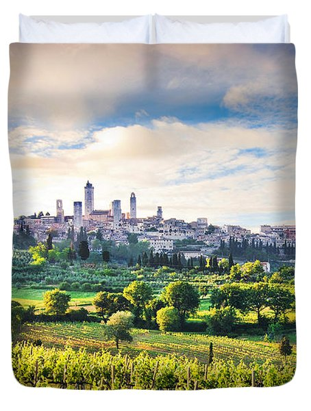 Bella Toscana Duvet Cover by JR Photography