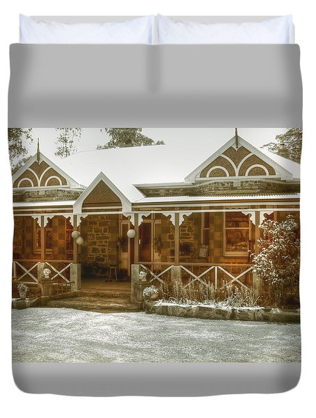 Bella Vista Duvet Cover by Elaine Teague
