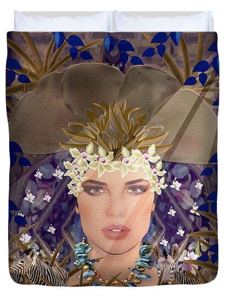 Belleza Terrosa  Duvet Cover by Gabriela Delgado