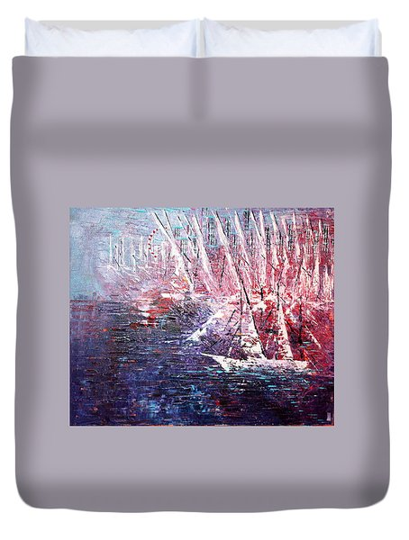 Belmont Turn  Duvet Cover