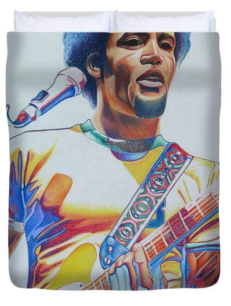 Ben Harper Duvet Cover by Joshua Morton