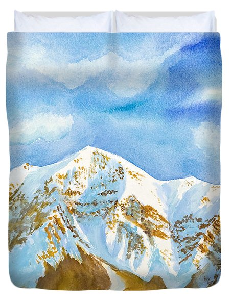 Ben Lomond Duvet Cover