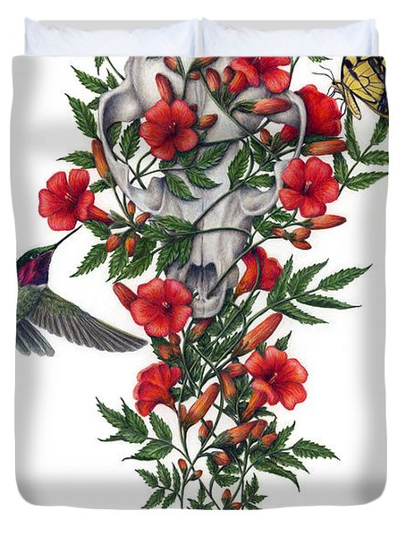 Beneath Summer's Promise Duvet Cover by Pat Erickson