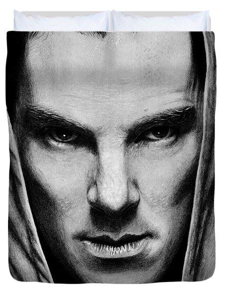 Benedict Cumberbatch Duvet Cover by Kayleigh Semeniuk
