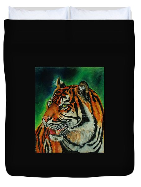 Bengal Duvet Cover by Jean Cormier